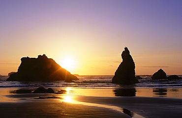 Bandon beach, oregon, bandon state park, bandon, us west coast, pacific coast