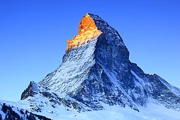 Matterhorn - 4478 m, Zermatt, Wallis, Schweiz