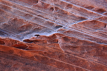 Coyote buttes north, fragile sandstone formed by wind and water, paria wilderness area, arizona, usa