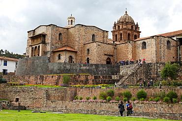 Coricancha Temple, important temple of the Inca Empire, Cusco City, Cuzco, UNESCO World Heritage Site, Peru, South America