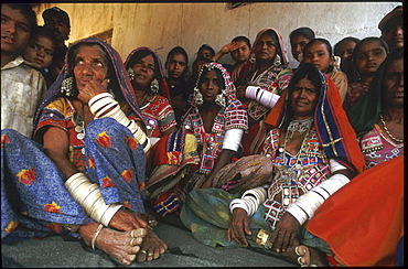 India - tribes: lambada tribal women, andhra pradesh