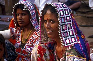 India - tribes: lambada tribal women, mulathanda, andhra pradesh