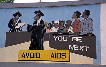 Gambia billboard