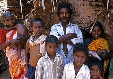 India - slavery family of bonded laborers, palani, tamil