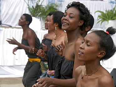 Dance performance at bugando hospital medical school, tanzania. Mwanza. - opening ceremony