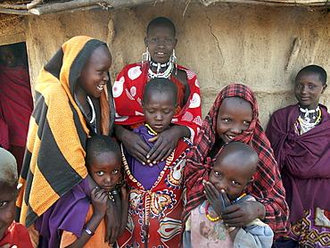 Masai children, tanzania. Arusha, moita village