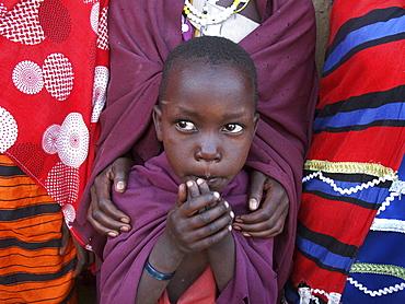 Masai child, tanzania. Arusha, moita village