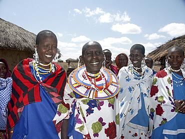 Masai women, tanzania. Arusha, moita village