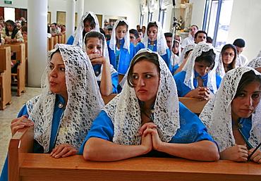 Australia. Iraqi chaldean  community in sydney. Sunday mass.