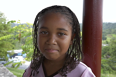 Jamaica. Girl of seaford town