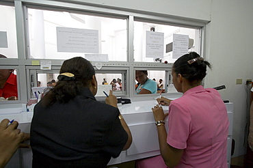 Jamaica. Dispensary at clinic in montego bay