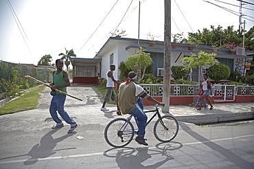 Jamaica. Street scene in montego bay