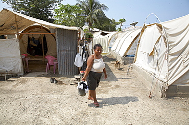 East timor. Camp for internally displaced people (idps) at the don bosco center in dili