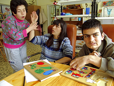 Disability, bulgaria. Anunciation center for people with severe mental and physical disabilities, sofia