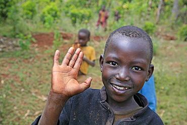 Burundi boy of gitera.