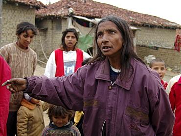 Gypsies, bulgaria. Romas of karlova