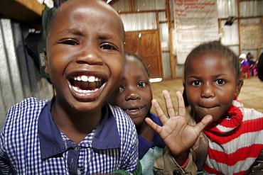 Kenya day care center in kibera slum, nairobi