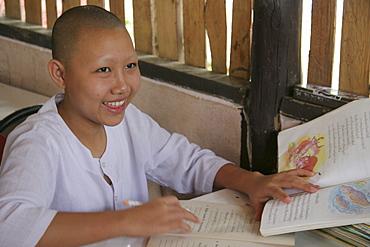 Thailand damanaruk childrens village, girl in school