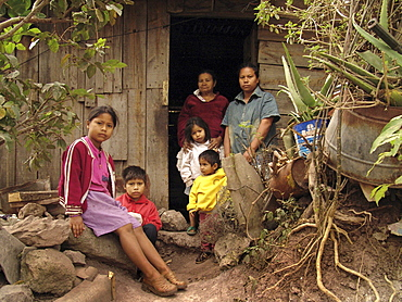 Honduras slum dwellers of tegucigalpa