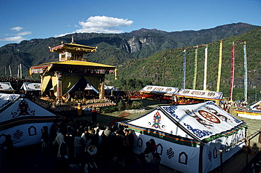 Purchang (cremation palace) of h.h. Dilgo khyenste. Bhutan. H.h. Dilgo khyentse rinpoche (1910-1991), tutor to present dalai lama revered as of greatest exponents of dzogchen- teachings of great perfection. Khyentse rinpoche®s purchang (cremation palace), satsam chorten, below paro takstang, bhutan, november 4, 1992 never forget swiftly this life will be over, like a flash of summer lightning or wave of a hand. that have opportunity to practice dharma, do waste a single moment on anything else, practice with your energy.oe h.h. Dilgo khyenste rinpoche, heart treasure of enlightened ones my delight in death is, greater than delight of traders at making vast fortunes at, or of lords of gods vaunt their victory in battle or of those sages have entered rapture of perfect meditative absorbtion. So just as a traveler sets on road when time come to go, i will remain in this world no longer, will dwell in stronghold of great bliss of deathlessness. -longchenpa, fourteenth- century dzogchen master