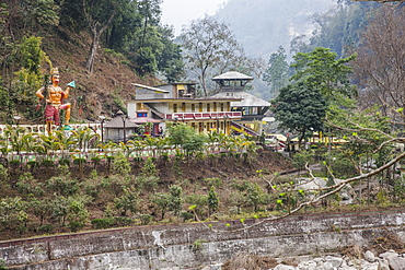 Kirateshwar Mahadev Temple (Shiv Mandir) at Legship, West Sikkim, India, Asia