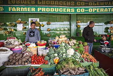 Sikkim Organic Market, Gangtok, Sikkim, India, Asia