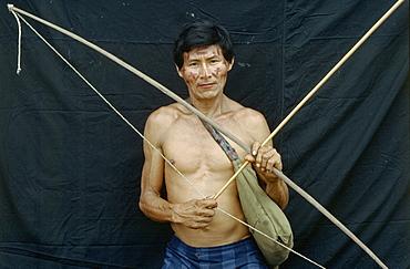 Colombian shaman, , amazon, makuna indians, makuna closeup, makuna workin