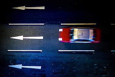 Hong Kong taxi, Central, Hong Kong, China, Asia