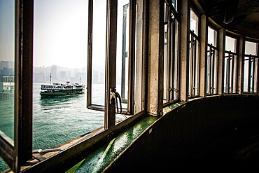 Star Ferry from Kowloon, Hong Kong, China, Asia