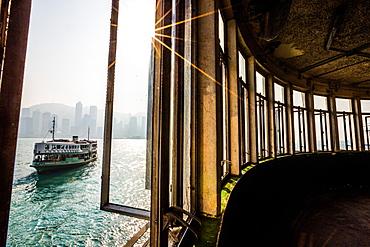 Star Ferry, Tsim Sha Tsui, Hong Kong, China, Asia