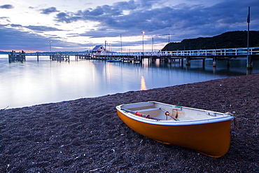Boat, Russell, Bay of Islands, North Island, New Zealand, Pacific