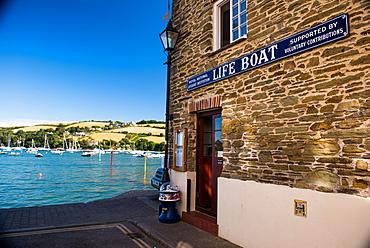 Royal National Lifeboat Institution, Union Street, Salcombe, Devon, England, United Kingdom, Europe