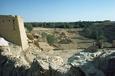 The Oasis, Al Diriya, near Riyadh, Saudi Arabia, Middle East