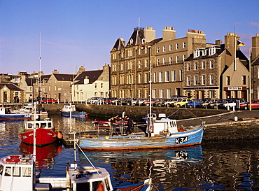Kirkwall harbour, Mainland, Orkneys, Scotland, United Kingdom, Europe