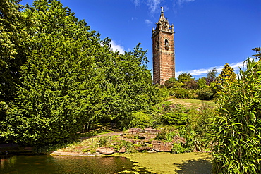 Cabot Tower, on Brandon Hill, Bristol, England, United Kingdom, Europe