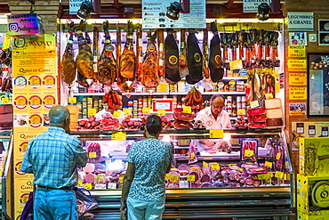 Triana Market, Triana district, Seville, Andalusia, Spain, Europe