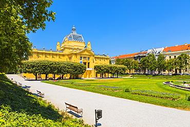 Art Pavilion, Zagreb, Croatia, Europe