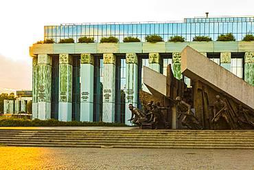 Warsaw Uprising Monument, Warsaw, Poland, Europe