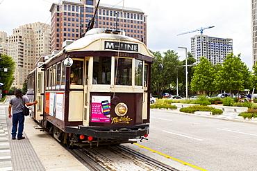 Tram, Dallas, Texas, United States of America, North America