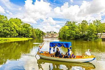 Lazienki Palace, Lazienki Park, Warsaw, Poland, Europe