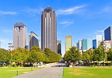 Klyde Warren Park, Dallas, Texas, United States of America, North America