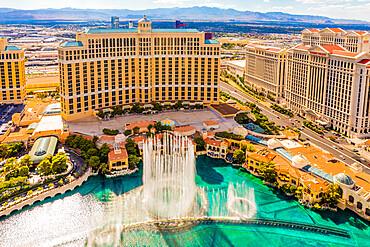 Bellagio Hotel and Casino, Las Vegas, Nevada, United States of America, North America