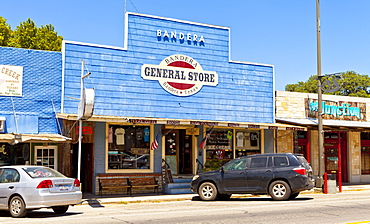General store, Bandera, Texas, United States of America, North America