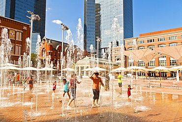 Sundance Square, Fort Worth, Texas, United States of America, North America