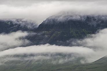 Outside Isafjordur, Westfjords, Iceland, Polar Regions