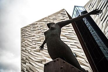 Titanic Museum, Belfast, Northern Ireland, United Kingdom, Europe