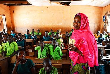 Teacher, Walewale DA Primary Walewale, West Mamprusi District, Ghana, West Africa, Africa