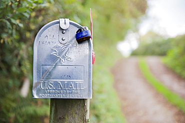 US Mail post box, United Kingdom, Europe