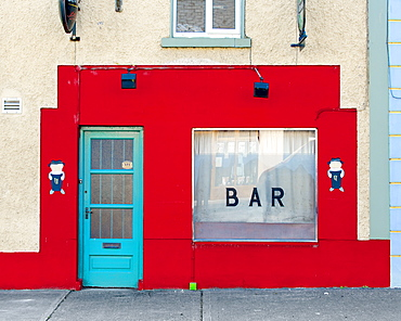 Traditional Irish Bar, Portumna, Co Galway, Republic of Ireland, Europe