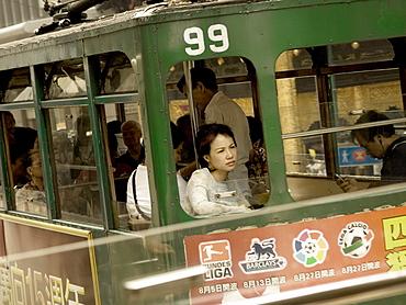 Tramcar, Hong Kong, China, Asia